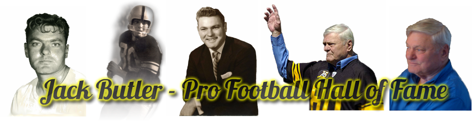 Jack Butler - Pro Football Hall of Fame